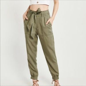 Abercrombie and Fitch light Jogger pants